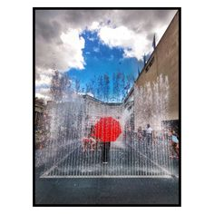'The Water Box', The Southbank, London.