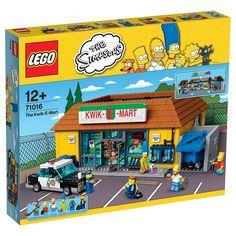 ¡El Badulaque nunca había sido tan real como con LEGO! ¡Descubre todos sus rincones y disfruta jugando con los Simpson!