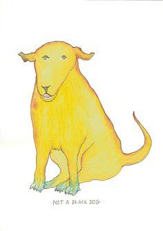 Bobby Baker » Not a Black Dog » Drawing Biennial 2013 » Drawing Room