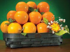 Valencia Gift Basket - Web Exclusive - Hale Groves #valencia #oranges
