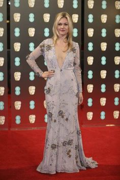 BAFTA 2017 Dressed Celebrities At The Red carpet