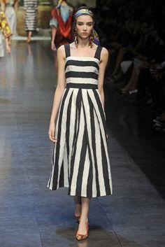 Dolce & Gabbana RTW Spring 2013 - Runway, Fashion Week, Reviews and Slideshows - WWD.com