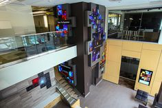 Christie Digital Unveils Digital Signage Showcase At New Headquarter's Lobby