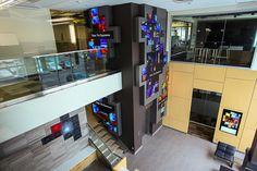 Christie Digital Unveils Digital Signage Showcase At New Headquarter's Lobby