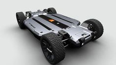 """No longer do you need to fantasize about buying a Tesla, now that Trexa has released pricing details of its """"scalable lithium-drive platform,"""" (aka the base for building your own electric car). Diy Electric Car, Electric Motor For Car, Electric Car Conversion, Electric Skateboard, Electric Vehicle, Tesla Motors, E Motor, Auto Motor, E Mobility"""