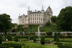 The Dunrobin Castle in the Highland area of scotland