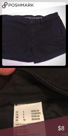 e678f417e63b Black AE shorts Black shorts. 6. American Eagle Outfitters Shorts Jean  Shorts