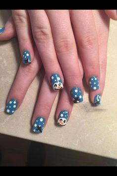 Nails done by Kiki and Danny!!! #kikinailsalon