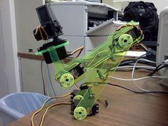 awesome derivative of that robot arm sold as kits in jaycar and the like