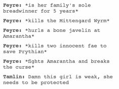TAMLIN THE TOOL  -I just snorted.