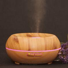 Luchtbevochtiger Essentiële olie diffuser diffuser difusor de aroma Mist maker Vernevelaar aroma diffuser luchtbevochtiger 200 ml