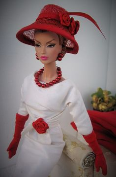 Bill Tanner OOAK Fashion for Victoire Roux, Silkstone Barbie and similar size
