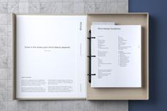 Aesop Store Design Guidelines by U-P. – Print Design Co. - New Site Ideas De Portfolio, Portfolio Book, Portfolio Design, Printed Portfolio, Layout Design, Print Layout, Print Design, Design Guidelines, Brand Guidelines