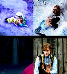 """""""Frozen and Once Upon a Time Parallels"""""""