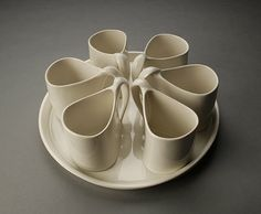 Brooke Evans Porcelain pottery, New York