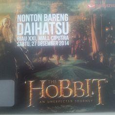 Daihatsu Ajak Konsumen Nonton Bareng Film The Hobbit