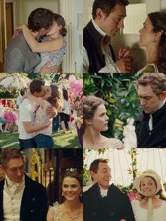 Henry and Jane in Austenland (JJ Feild and Kerri Russell) - My favorite thing about their love is that he was always looking at her.  He truly couldn't take his eyes off of her. <3