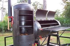 Build Your Own Smoker Barbeque Smoker Plans Bbq Smoker