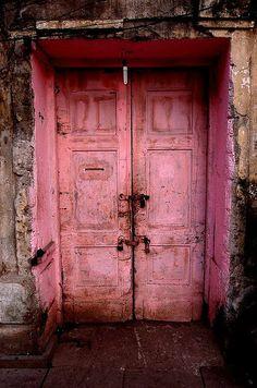 ~ pink doors ~