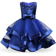 Baby Girls Party Dress Elegant Girl Evening Dress For Wedding Birthday Kids Dresses For 2 to 10 yeas Girls Clothes Wedding Flower Girl Dresses, Lace Bridesmaid Dresses, Flower Girls, Flower Dresses, Dress Wedding, Girls Evening Dresses, Girls Party Dress, Girls Dresses, Dresses For Children