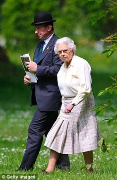 Queen Elizabeth II attends the Royal Windsor Horse Show at Home Park on May 17 2014