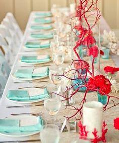 Quatre style pour une table | Les idées de ma maison  © Pinterest #deco #table #salleamanger #contemporaine #symetrie