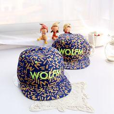 New 2013 fasion Exo flat brim cap wolfm hiphop cap fashion baseball cap hat print male Women Free Shipping