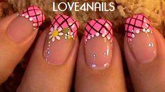 Daisy Flower ~ Nail Art