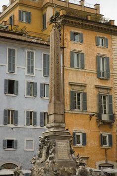 Obelisk in Piazza della Rotonda in Rome.