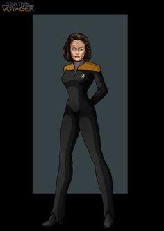 lieutenant b'elanna torres by nightwing1975.deviantart.com on @deviantART