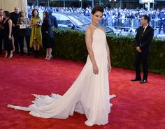 Actress Katie Holmes Wearing: Calvin Klein Credit: Getty Images