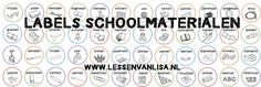 Lessen van Lisa - Klasinrichting