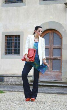 tangerine tango outfit fashion blogger