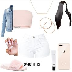 Best Baddie Outfits Part 3 Swag Outfits For Girls, Cute Lazy Outfits, Cute Swag Outfits, Teenage Girl Outfits, Cute Outfits For School, Dope Outfits, Girly Outfits, Teen Fashion Outfits, Trendy Outfits