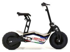 With its powerful motor and two all-terrain wheels, Velocifero's MAD electric scooter lets you experience riding fun on various terrains. Like the design? Let's