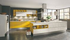 Einbauküche Adina Senfgelb