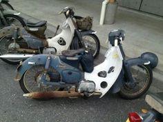 Honda Scooters, Honda Bikes, Motor Scooters, Joker Card, Honda Cub, Bike Wear, Car Mods, 50cc, Pedal Cars
