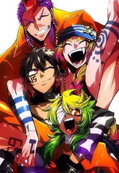 Nanbaka: this anime is really good recommend it. genre -  Action, Comedy, Drama