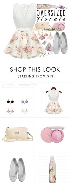 """Oversized Florals - YesStyle"" by yesstyle ❤ liked on Polyvore featuring Cherry Dress, yesstyle and oversizedflorals"