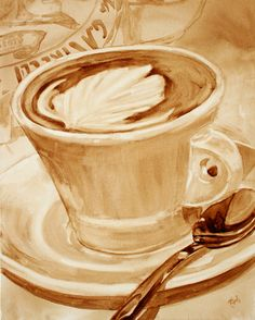embellishment coffee- Angel Sarkela Saur