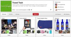 Travel Tech | Community Post: 65 Innovative And Creative Pinterest Accounts That Will Improve Your Life