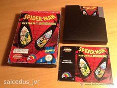 Spider-Man Return of The Sinister Six para Nintendo NES PAL Completo Versión Española Spiderman