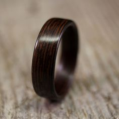 How gorgeous is this wooden ring?  #futurehusband