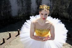 One of the first tutus I ever made - loved working on this project and was thrilled this image won a space in a magazine's 'best of...'