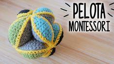 PELOTA MONTESSORI / PUZZLE BALL a crochet (juguete de estimulación) | AH...