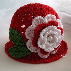 crafts for summer: crochet hat patterns, kids craft ideas Crochet Hat Pattern Kids, Crochet Toddler, Crochet Kids Hats, Crochet Cap, Crochet Girls, Crochet Beanie, Crochet Patterns, Hat Patterns, Free Crochet