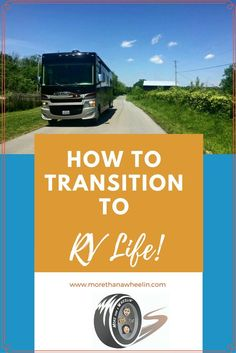 Are you wondering how you can travel full-time, or take an extended trip? Use this checklist to plan your full-time RV travel adventure. #RVlife #RVliving