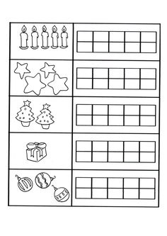 Conta gli oggetti Math Literacy, Simple Math, Learning Numbers, 1st Grade Math, Teacher Hacks, Working With Children, Light Table, Worksheets, Kindergarten