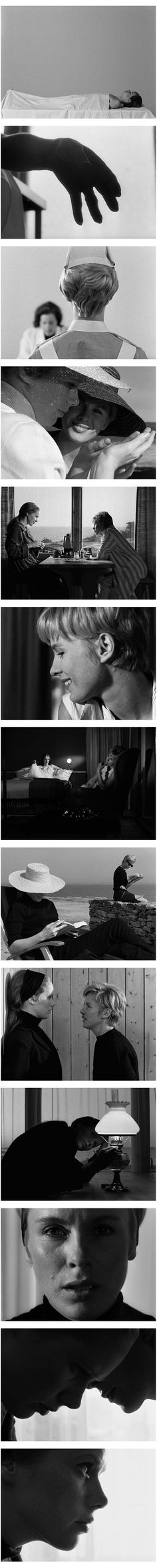 Cenas do filme Persona, clássico de Ingmar Bergman. 10 filmes sobre a sexualidade. O cinema disposto em todas as suas formas. Análises desde os clássicos até as novidades que permeiam a sétima arte. Críticas de filmes e matérias especiais todos os dias. #filme #filmes #clássico #cinema #ator #atriz #DigitalFilmSchool