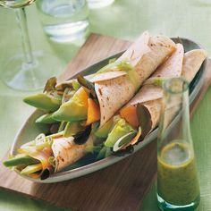 Avocado-Lachs-Wraps